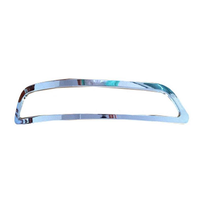 اكسسوارات السيارات الضباب غطاء مصباح لأودي Q3 2013 ABS المواد السيارات الفضة الخلفية غطاء الضباب الخفيف