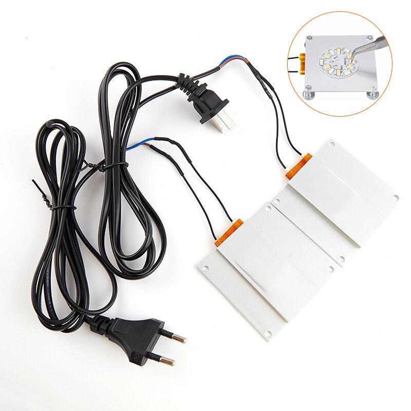 ألومنيوم LED مزيل PTC لوح تسخين لحام رقاقة إزالة لحام بغا سبليت لوحة