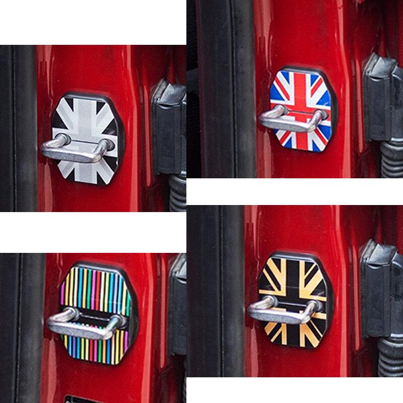 2 قطعة/المجموعة باب السيارة قفل غطاء الصدأ Ressistant مشبك حالة حامي ل ميني كوبر R55 R56 R57 R58 R59 السيارات التصميم اكسسوارات