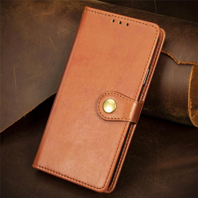 Luxury Flip Leather Wallet Case For Samsung Galaxy S21 S20 FE S10 S9 Plus Note20 Ultra A12 A32 A42 A52 A22 Magnetic Card Holder