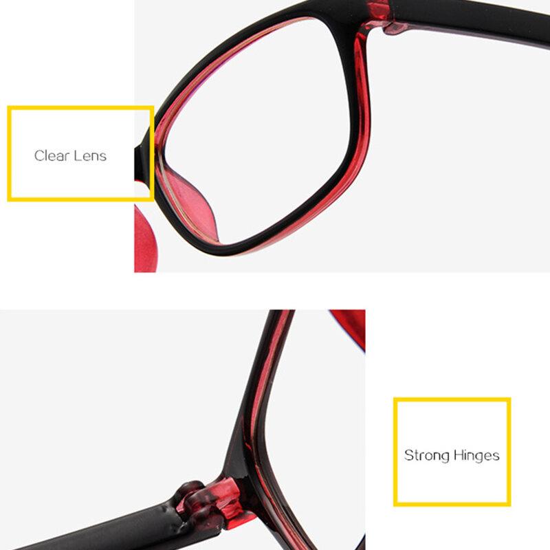 الهاتف المحمول الكمبيوتر نظارات الرجال النساء مكافحة الضوء الأزرق حجب نظارات الألعاب حماية UV400 الإشعاع نظارات نظارات