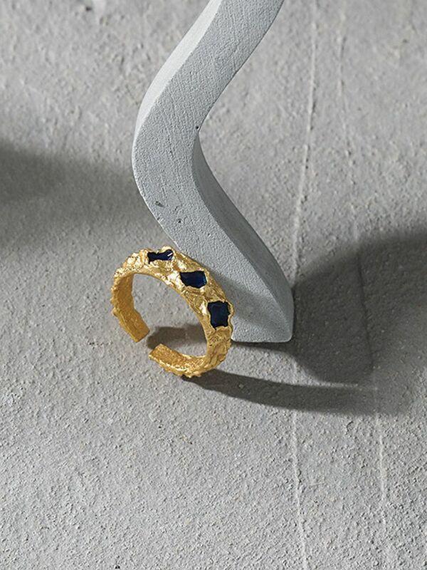 S'STEEL مصمم خواتم فضة 925 للنساء العصرية الحد الأدنى Steampunk القوطية قابل للتعديل خاتم غرامة مجوهرات هدية