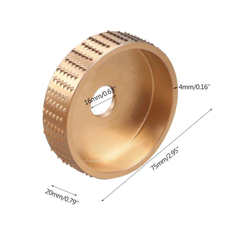 عجلة طحن مستديرة متوافقة مع طاحونة زاوية exquisat Deburring عجلة تلميع المعادن والخشب السطح للاستخدام بنفسك