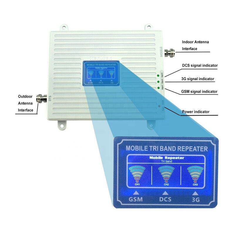 حار بيع 900mhz 1800mhz 2100mhz إشارة الهاتف الخليوي الداعم ل 2G 3G 4G