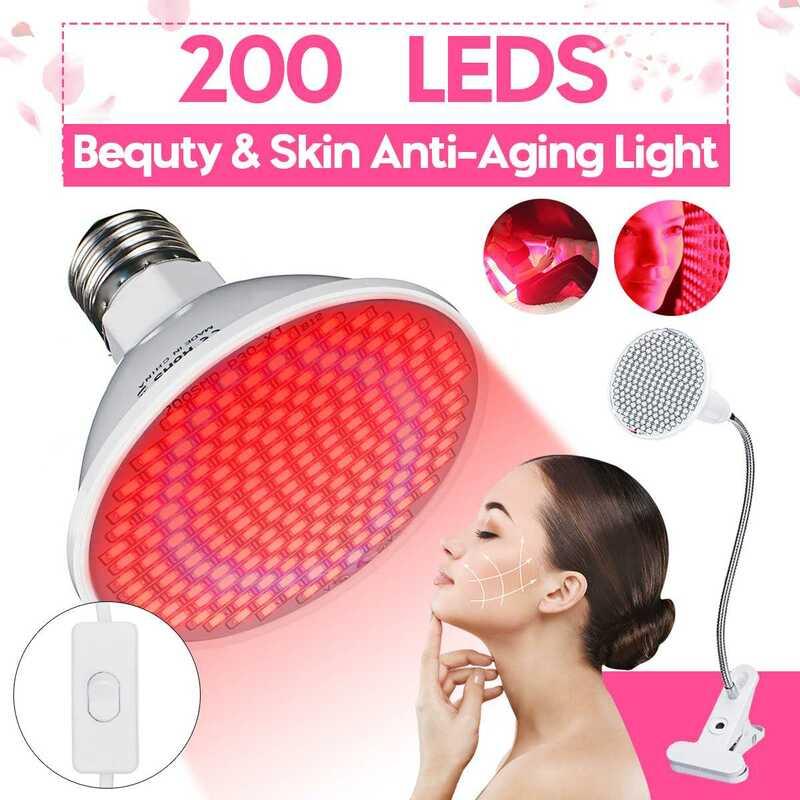 200 المصابيح مكافحة الشيخوخة 45 واط ضوء ليد أحمر العلاج Deeps الأحمر 660nm وبالقرب الأشعة تحت الحمراء 850nm Led ضوء لكامل الجسم الجلد والألم تخفيف