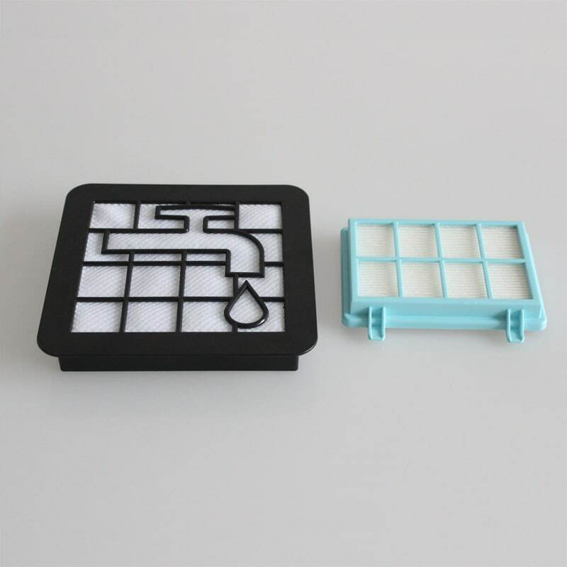 مجموعة من 2 فلتر للمكانس الكهربائية PowerPro Compact FC9331 FC9332 FC8010