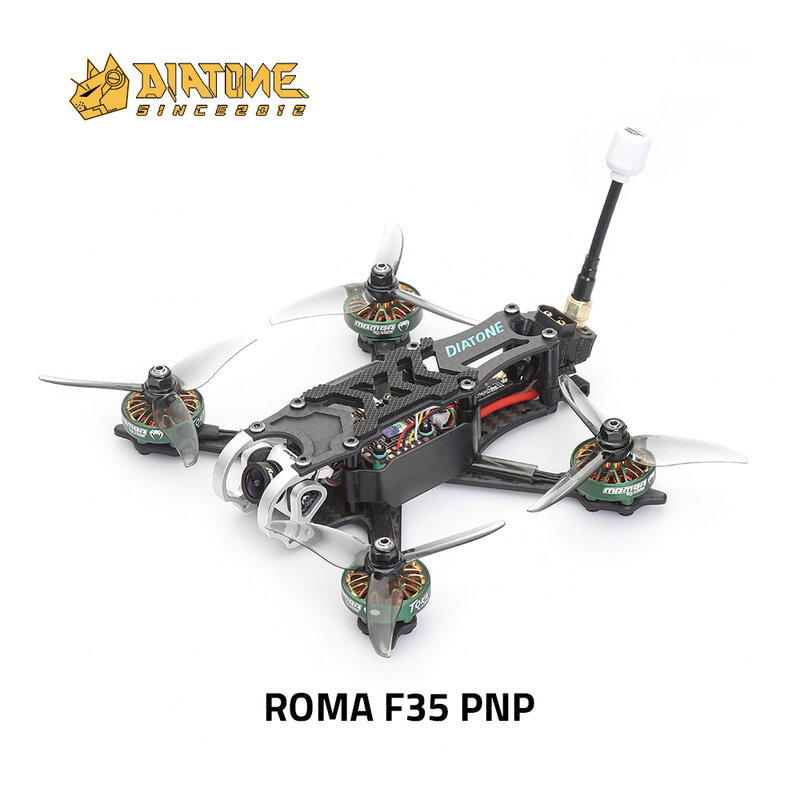 DIATONE Roma F35 3.5 بوصة 4/6S PNP (بدون استقبال) مع كاميرا/F7 DJI MINI MK2 FC/40A ESC 20*20 مللي متر 2306.5 موتور