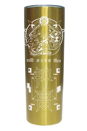 حار لعبة Genshin تأثير هو تاو كلي Venti Zhongli سعة كبيرة مشروب بارد فراغ كوب الموضة كوب قارورة عازلة زجاجة ماء هدية جديد