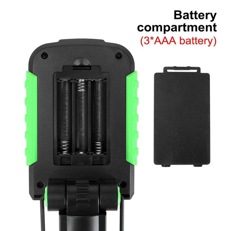 مصباح محمول LED ضوء العمل هوك المغناطيسي التخييم مصباح COB USB قابلة للشحن SMD مصباح يدوي الشعلة مقاوم للماء تسليط الضوء