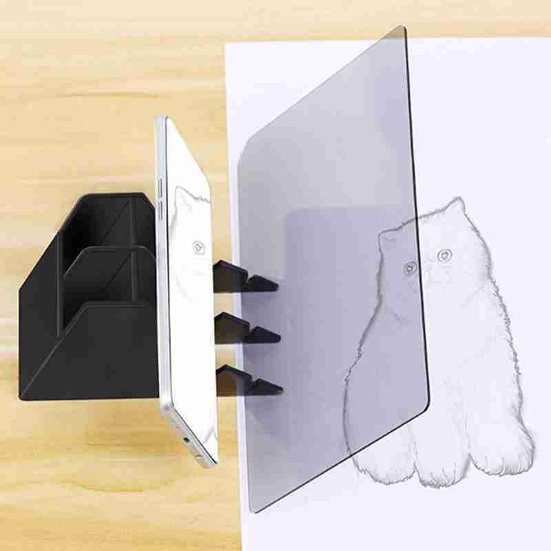 """22.5x15.6 """"البلاستيك رسم تتبع لوحة الرسم البصرية للمبتدئين العارض والأطفال انعكاس أداة الرسم رسم Sket M3Y1"""