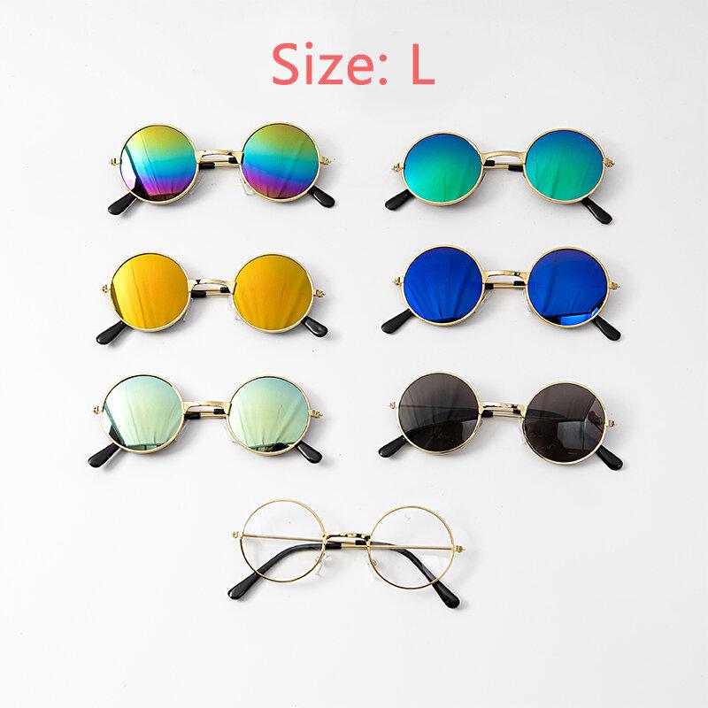 نظارات ل القط منتجات الحيوانات الأليفة السلع للحيوانات الكلب اكسسوارات كول مضحك العدسات هريرة الشمس صور الدعائم الملونة النظارات الشمسية