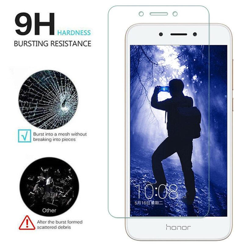واقي شاشة من الزجاج المقوى لهاتف Honor 6 6A 6C Pro 6X 6 ، زجاج واقي لهاتف Huawei P6 Enjoy 6S Nova Young Smart Y6 ، 2 قطعة