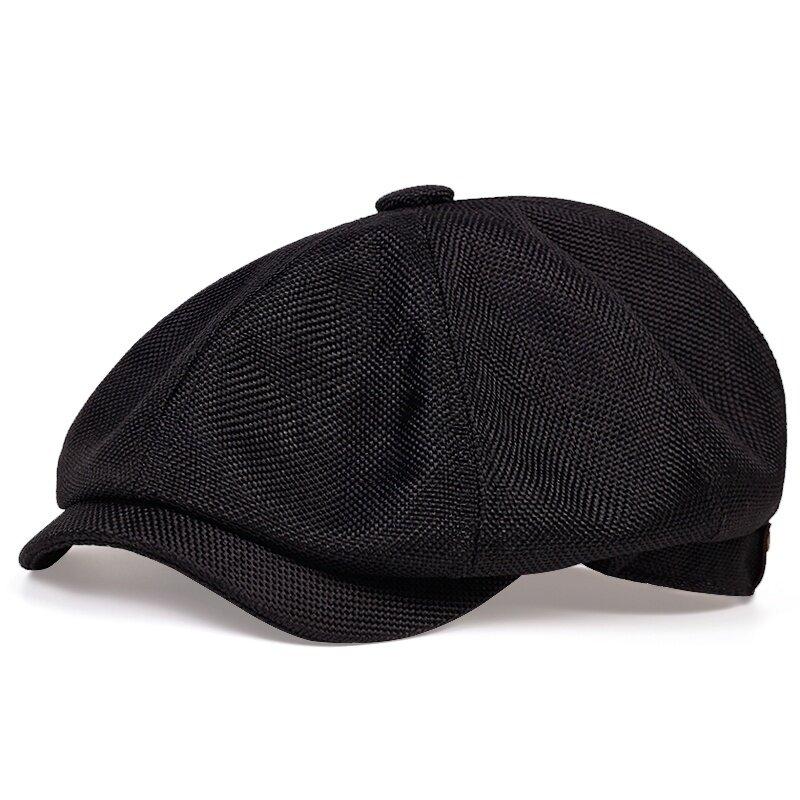 2020 جديد الرجال عادية موزع الصحف قبعة الربيع والخريف الرجعية قبعة قبعة البرية عادية للجنسين البرية مثمنة قبعة