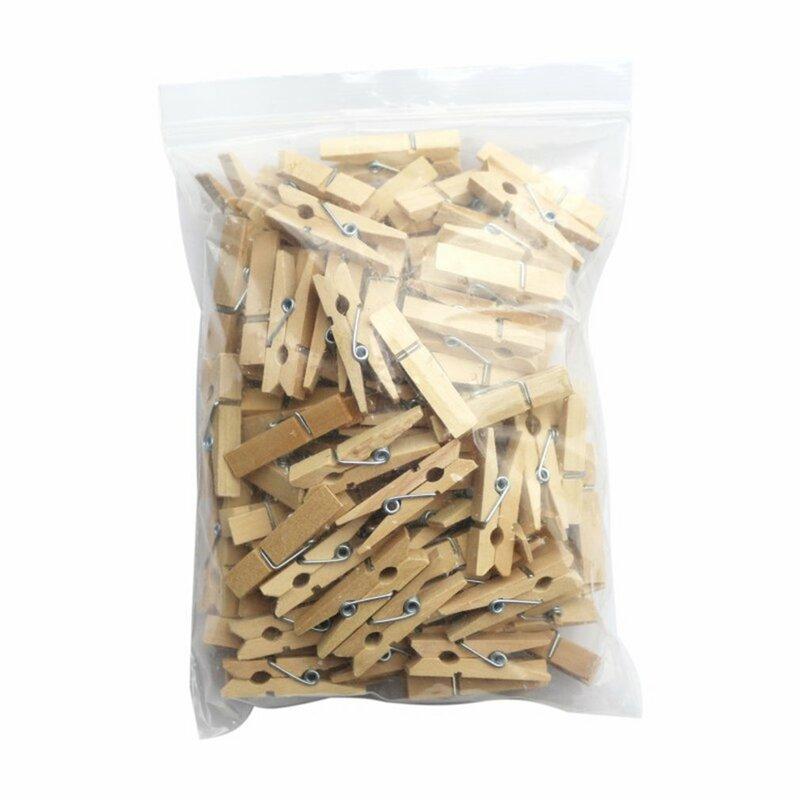 100 قطعة صغيرة صغيرة الحجم الخشب صور كليب الغسيل الحرفية الديكور كليب أوتاد وجبة خفيفة