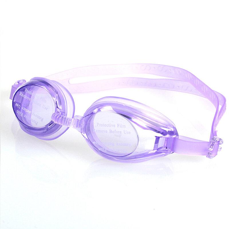 جديد قابل للتعديل نظارات نظارات سباحة مكافحة الضباب الأشعة فوق البنفسجية حماية الأطفال مقاوم للماء سيليكون معكوسة السباحة نظارات