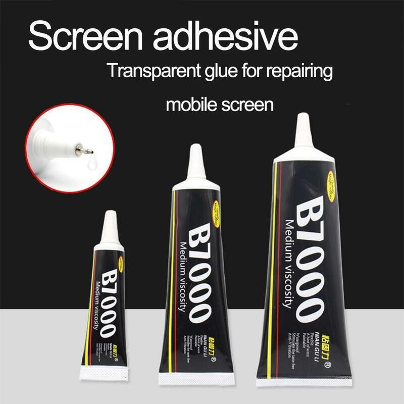 متعددة الأغراض B7000 شفافة قوية سوبر لاصق ، LCD مجوهرات من الزجاج جراب هاتف لتقوم بها بنفسك شاشة مناسبة ساعة للهاتف المحمول re Y7F5