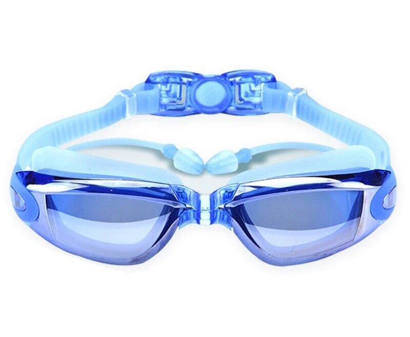 الكهربائي مكافحة الأشعة فوق البنفسجية مكافحة الضباب نظارات السباحة الغوص قابل للتعديل نظارات الوقاية للسباحة السيدات الرجال السباحة حملق ا...