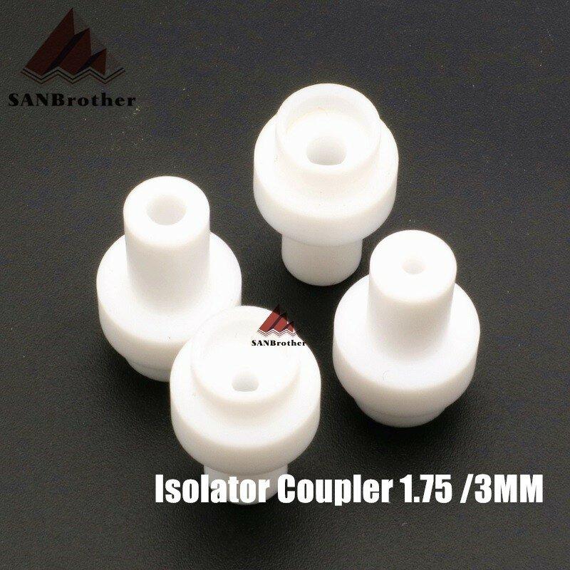 5 قطعة um2 UM2 + الساخن نهاية المعزل مقرنة PTFE الداخلية كم ل 1.75 مللي متر 3 مللي متر خيوط عالية الجودة