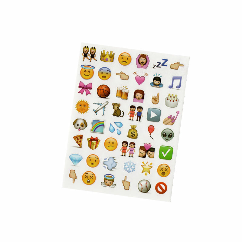144 قطعة ملصقات Kawaii ل دفتر الجمالية الاطفال الأطفال مجلة Smileys الوجه ملصق يوميات تزيين لوازم مكتبية