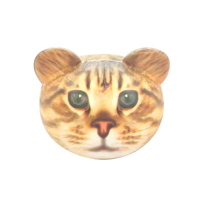 مكافحة الإجهاد الكرة القط رئيس المنبثقة ضد الإجهاد ألعاب متململة اسفنجي Kawaii نابض بالحياة الحيوان الكرة ضغط اللعب زاباوكي Dla Dzieci