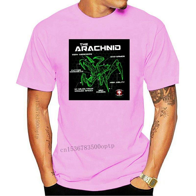 جديد Starship جنود علة التخطيطي الرجال قميص أسود 2021 أحجام S-2XLknitted مريحة النسيج الشارع نمط الرجال تي شيرت
