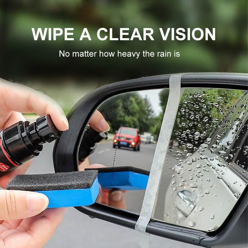 60 مللي مكافحة المطر وكيل مقاوم للماء غير نافذ للمطر سوبر مسعور مرآة الرؤية الخلفية زجاج النافذة طلاء مرآة السيارة اكسسوارات أدوات
