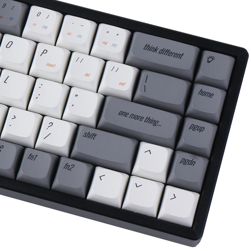 Keychron K6 XDA الشخصي PBT ريترو Keycap مجموعات