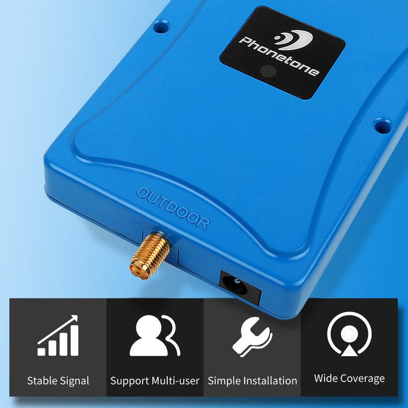 مقوي إشارة الهاتف المحمول الذكي الكامل ، 2g ، 3g ، 4g ، 1700mhz ، Band 4 ، كسب ، 72dB ، مكبر إشارة صغير ، مجموعة وظيفة ALC