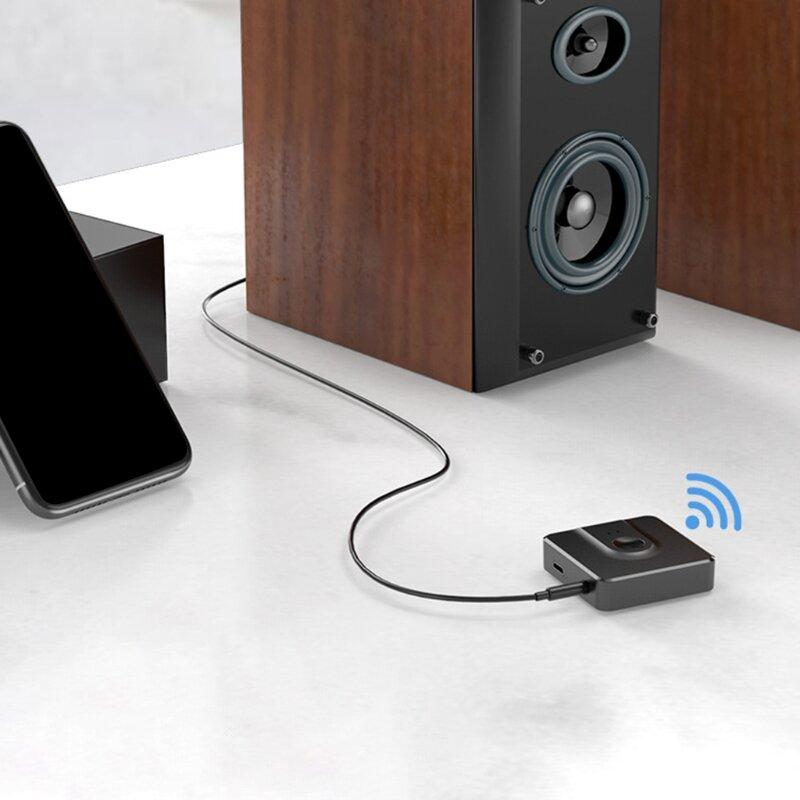 2021 جديد 2 في 1 بلوتوث متوافق 5.0 ستيريو محول دُنجل لاسلكي ل جهاز إرسال سمعي استقبال لديه Aux المدخلات RCA