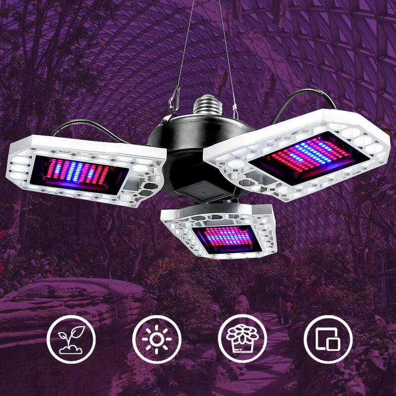 IP65 LED فيتو مصباح E27 شاشة ليد بطيف كامل تنمو ضوء 100 واط 200 واط 300 واط AC100-277V الشتلات داخلي زهرة تنمو خيمة صندوق النبات لمبة