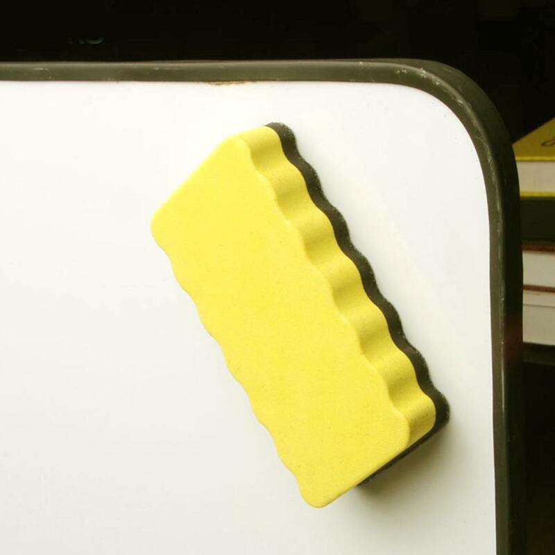 قطعة واحدة عالية الجودة محايات لوح أبيض مغناطيسي مكتب ملصق لوازم مغناطيس مدرسة السبورة محايات الكتابة مسح E9D8