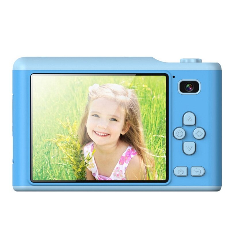 A15 الأطفال الرقمية كاميرا ، الكرتون الرقمية كاميرا مصغرة الكرتون 2.8 بوصة IPS شاشة كاميرا ل الأطفال