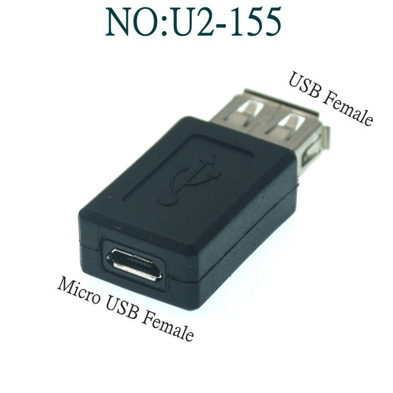 USB 2.0 A ذكر إلى أنثى المصغّر USB مصغّر تاريخ مغير محول محول USB محول الكمبيوتر أجهزة الهاتف المحمول واجهة