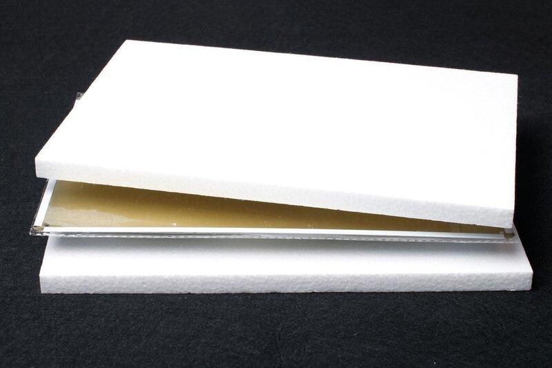 فيلم حاجز وقوف السيارات مصنوع من الألومنيوم ، علامة جديدة مقاس 8 × 12 بوصة S074