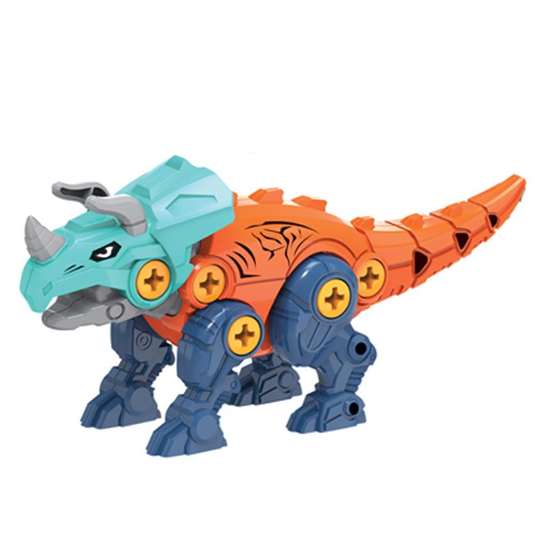 ثلاثية الأبعاد ديناصور لغز لعبة كتلة البيض مسامير لعبة تعليمية