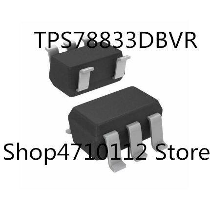 10 قطعة/الوحدة جديد TPS78833DBVR TPS78833DBVT TPS78833DBV TPS78833 وسم PGTI SOT23-5 IC