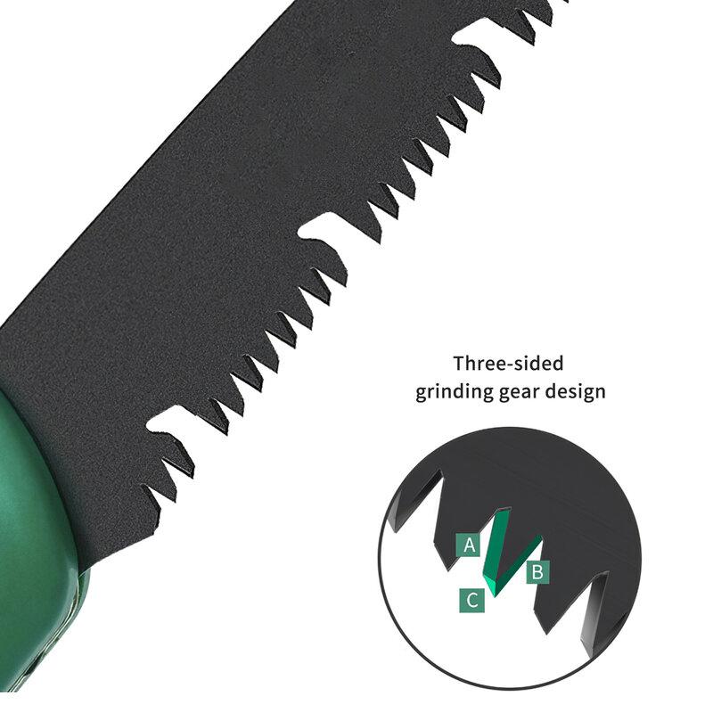 منشار تخييم SK5 منشار يدوي قابل للطي محمول للتزيين نوع جديد لشجرة الفواكه تشذيب الحدائق أدوات قطع الأشجار اليدوية