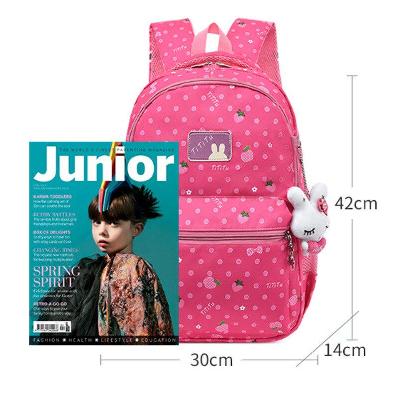 جديد الأطفال حقيبة مدرسية للفتيات على ظهره حقيبة أطفال حقيبة مدرسية الابتدائية سعة كبيرة الأميرة حقيبة مدرسية كيس Mochila Infantil