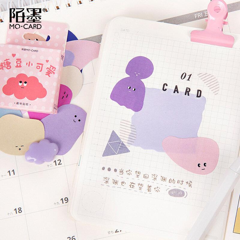 46 قطعة/الحزمة Kawaii لطيف الحلوى شكرا لك بطاقة ملصقات صغيرة ألبوم مذكرات سكرابوكينغ التسمية ملصقا القرطاسية اللوازم المدرسية n820