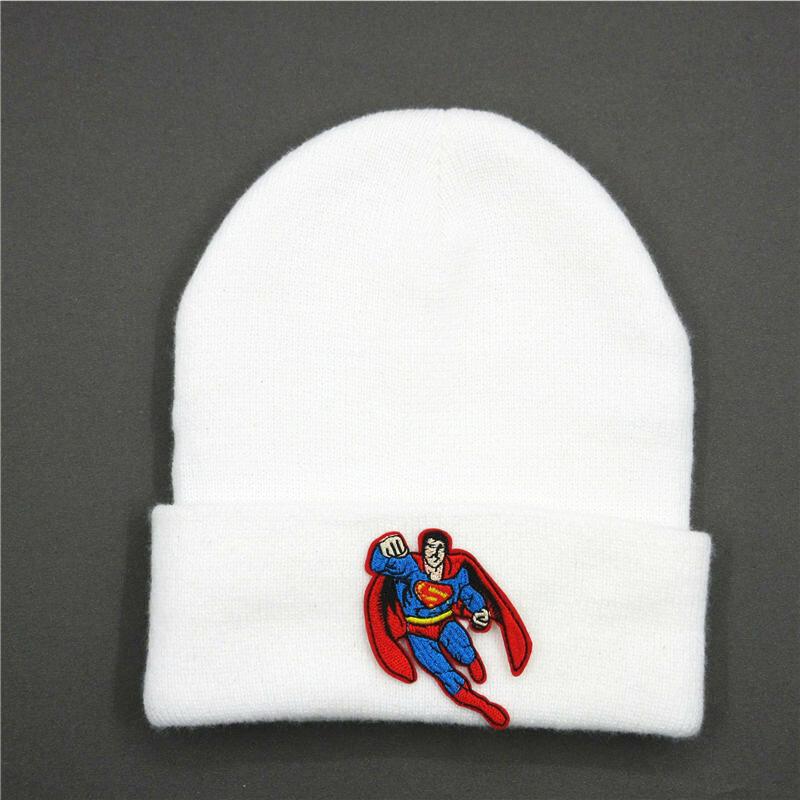 قبعة شتوية للرجال والنساء ، قبعة شتوية دافئة بتطريز الأبطال ، 181