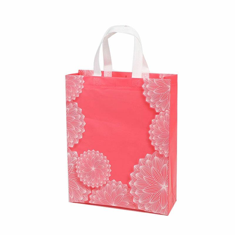 موضة زهرة طباعة حقيبة تسوق حمل غير المنسوجة النسيج ايكو حقيبة يد السفر البقالة للطي حقائب حقيبة ملابس عادية