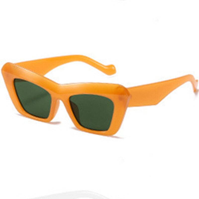 الجملة المعتاد قطعة واحدة مربع النساء النظارات الشمسية 2021 موضة جديدة خمر درع كبير نظارات شمسية الرجال الهيب هوب التدرج ظلال