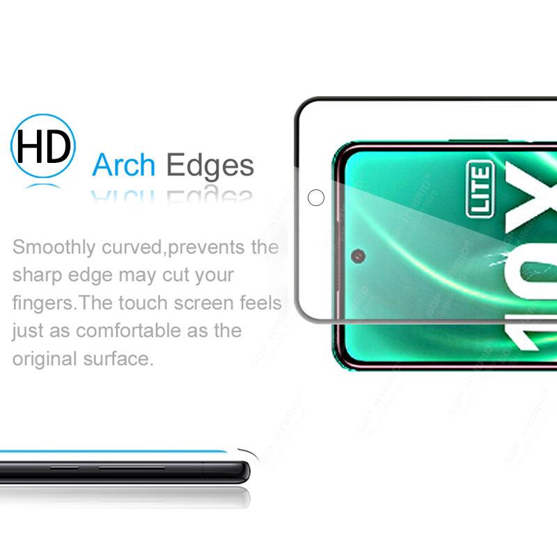زجاج واقي لهاتف Honor 10 Lite ، زجاج مقوى ، شفاف ، 10 X ، فيلم Sklo