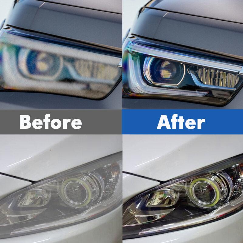 سيارة العلوي صيانة نظيفة تجديد وكيل رذاذ البولندية إصلاح السائل سيارة ضوء نظافة خدش مزيل إصلاح السائل TSLM1