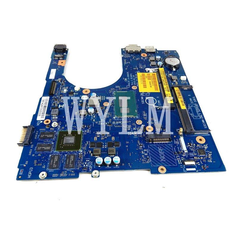 LA-B843P لأجهزة الكمبيوتر المحمول DELLINSPIRON 5458 5558 5758 اللوحة الأم I5-5200U وحدة المعالجة المركزية CN-0JVDMM / CN JVDMM اختبار 100% العمل