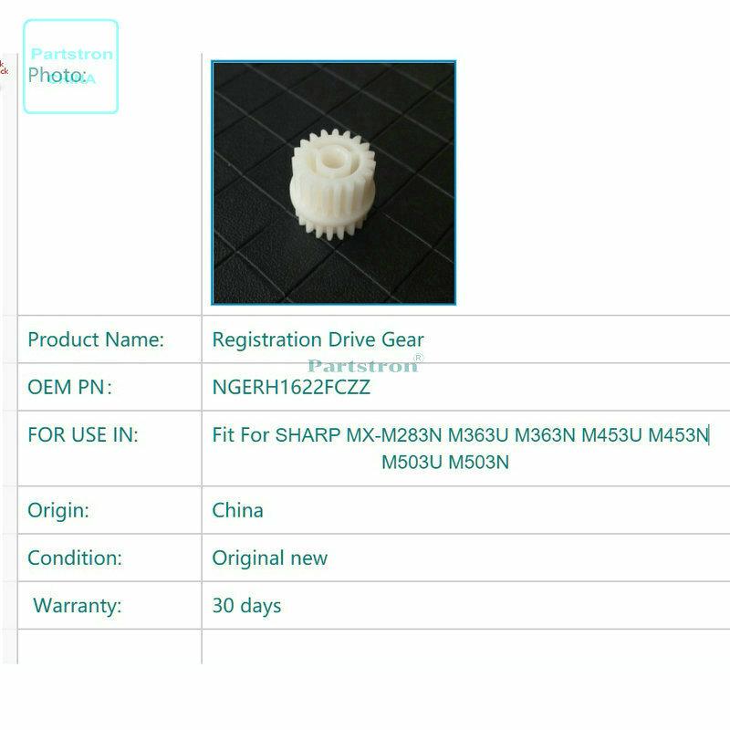 OEM جديد تسجيل محرك والعتاد NGERH1622FCZZ للاستخدام في شارب MX-M283N M363U M363N M453U M453N M503U M503N ناسخة أجزاء
