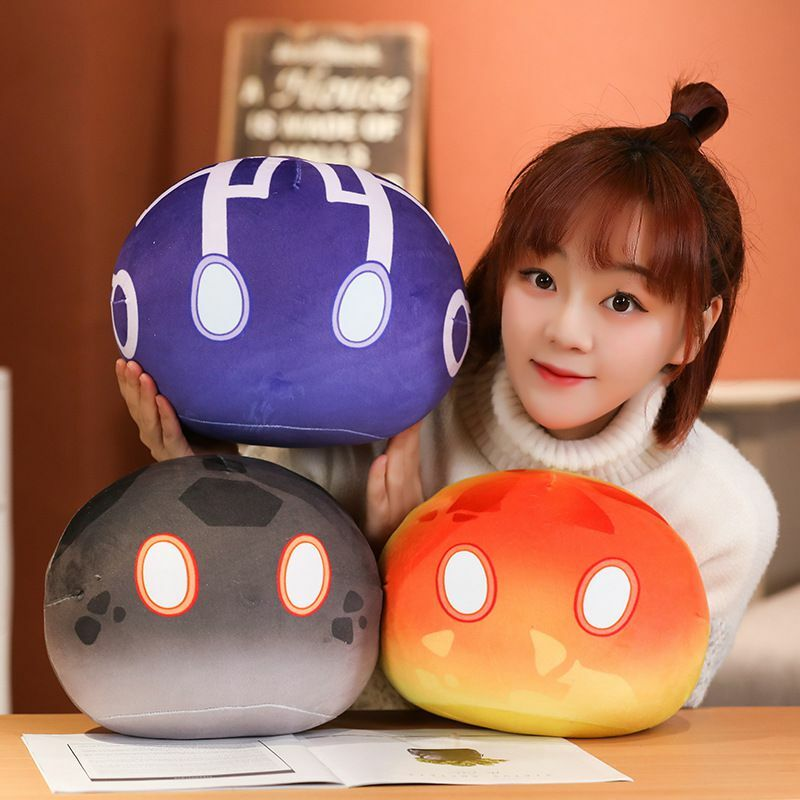 Genshin-لعبة قطيفة كرتونية للأطفال ، لعبة قطيفة من القطيفة القطيفة ، وسادة أنيمي كاواي جيلي دانغو