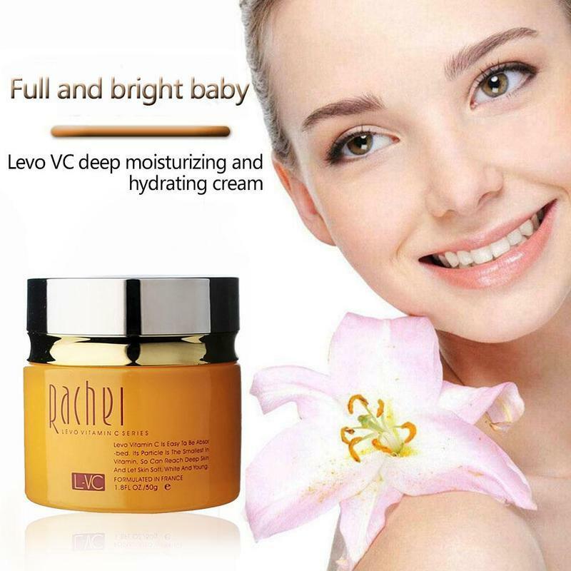 فيتامين C كريم وجه مكافحة الخطوط الدقيقة ترطيب تبييض تشديد الجمال كريم وجه مستحضرات التجميل الكورية العناية بالبشرة 50 مللي