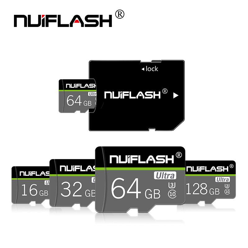 بطاقة مايكرو sd عالية الجودة 128GB 64GB 32GB فئة 10 بطاقة الذاكرة 16 gb 8gb عالية السرعة كارتاو دي ميموريا microSD/TF بطاقات + محول