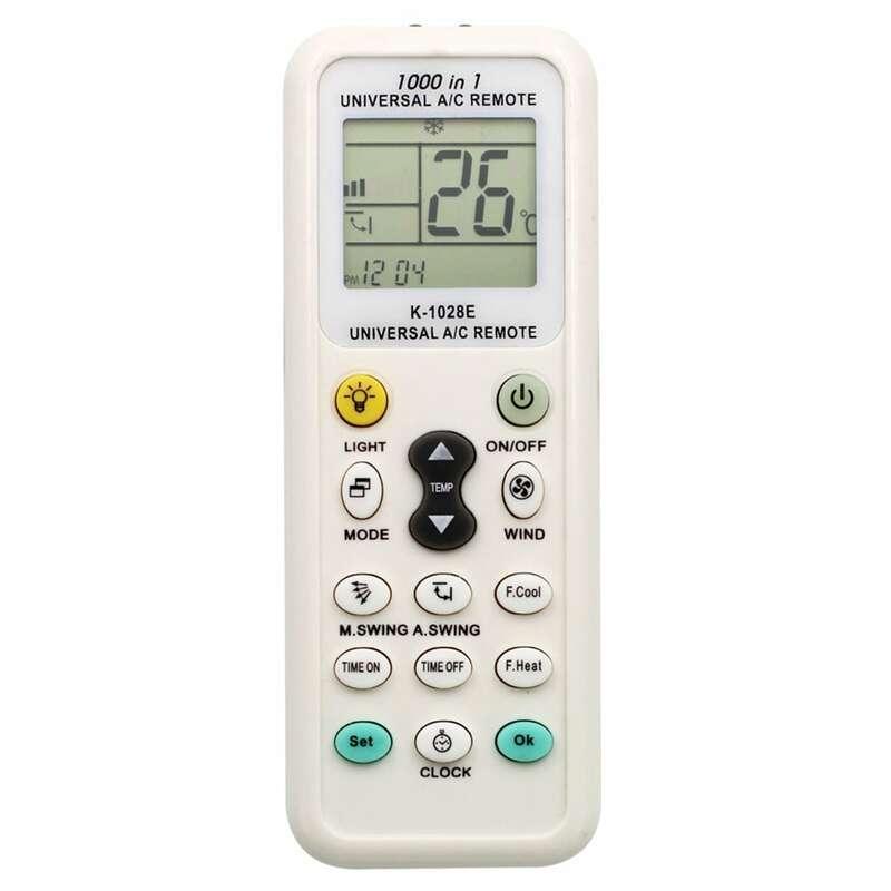 K-1028E العالمي انخفاض استهلاك الطاقة K-1028E تكييف الهواء عن بعد LCD تحكم عن بعد تكييف الهواء عن بعد